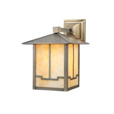 """13"""" W Seneca Valley View Solid Mount Wall Sconce"""