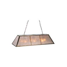 "48"" L Tri-Panel Oblong Pendant"