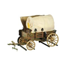 """19"""" W Covered Wagon Wall Sconce"""