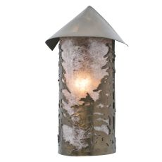 "8.5"" W Tall Pines Wall Sconce"