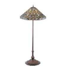 """58"""" H Tiffany Elizabethan Floor Lamp"""