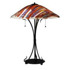 "28"" H Marina Fused Glass Table Lamp"