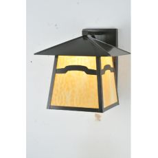 """24"""" W Stillwater Mountain View Solid Mount Wall Sconce"""