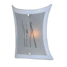 "9"" W Metro Fusion Twigs Glass Panel"