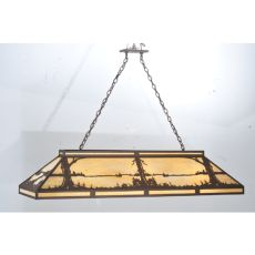 "61"" L Quiet Pond Oblong Pendant"