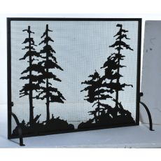 "50"" W X 38"" H Tall Pines Fireplace Screen"
