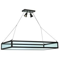 "49"" L Plateau Oblong Inverted Pendant"