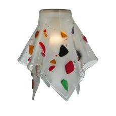 """9"""" W Metro Fusion Bam Bam Handkerchief Shade"""