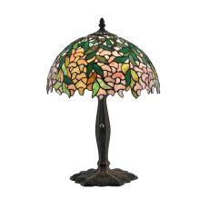 """17.5"""" H Tiffany Laburnum Accent Lamp"""