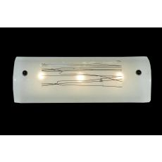 "18"" W Metro Fusion Twigs Glass Vanity Light"