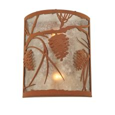 "10"" W Whispering Pines Wall Sconce"