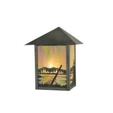 """9"""" W Quiet Pond Wall Sconce"""
