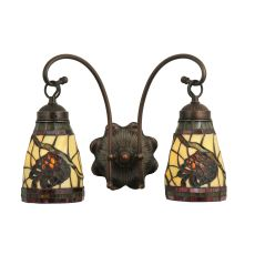 """15"""" W Pinecone 2 Lt Wall Sconce"""
