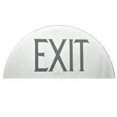 "21.75"" W X 9.75"" H Exit Mirror Sign"
