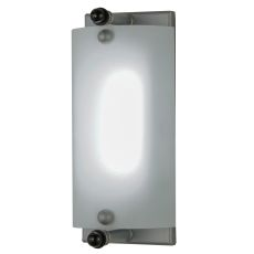"""4.5"""" W Rectangular W/Diffuser Dimmable Led Backplate"""
