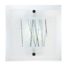"""12"""" W Metro Fusion Twigs Led Glass Wall Sconce"""