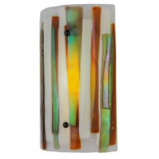 """9"""" W Metro Fusion Marina Dimmable Led Wall Sconce"""