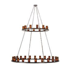 "72"" W Loxley 36 Lt Two Tier Chandelier"