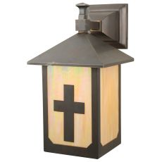 """7.5"""" W Seneca Son'S Solid Mount Wall Sconce"""