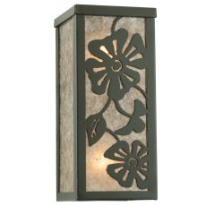 """4.5"""" W Morning Glory Wall Sconce"""