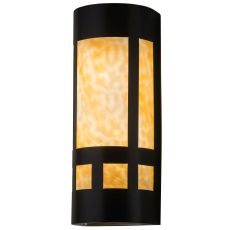 """7"""" W Van Erp Mission Wall Sconce"""