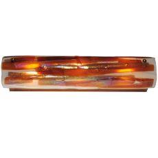 "24"" W Metro Fusion Marina Glass Vanity Light"