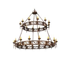 "83"" W Majella 2 Tier Chandelier"