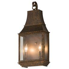 "10"" W Bastille Pocket Lantern Wall Sconce"