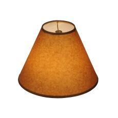 "10"" W X 7"" H Taos Brown Parchment Shade"