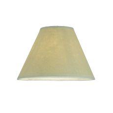 "7"" W X 4.5"" H Aged Celadon Beige Parchment Shade"