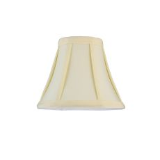 "6"" W X 5"" H Trumpet Cream Fabric Shade"
