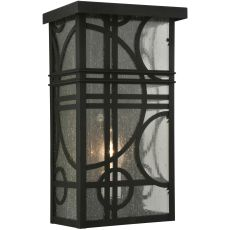 """9"""" W Revival Deco Wall Sconce"""