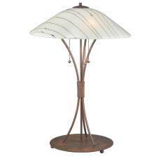 "28"" H Metro Fusion Branches Glass Table Lamp"