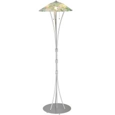 """65"""" H Metro Fusion Times Square Glass Floor Lamp"""