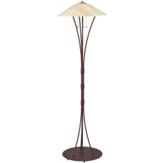 """65"""" H Metro Fusion Branches Glass Floor Lamp"""