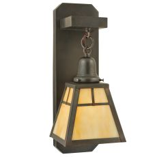 """4.75"""" W """" T""""  Mission Hanging Wall Sconce"""