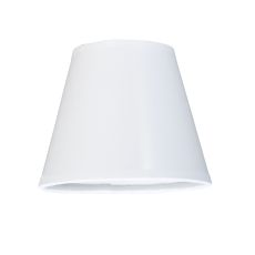 """5"""" W X 4"""" H Taos White Glossy Parchment Shade"""