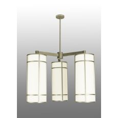 "49"" W Cilindro Jackson Hall 3 Lt Chandelier"