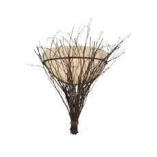 "20"" W Twigs Wall Sconce"