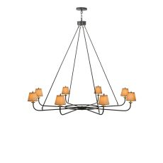 "62"" W Brach Ring 8 Lt Chandelier"