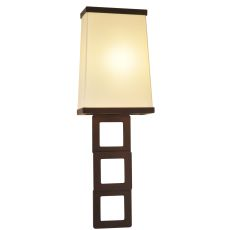 """7"""" W Gridluck Wall Sconce"""