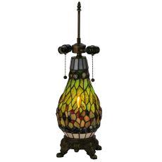 "25.5"" H Tiffany Mosaic Lighted Table Base"