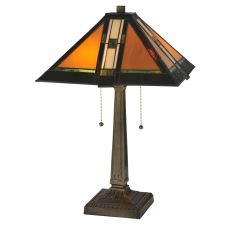 """22"""" H Montana Mission Table Lamp"""
