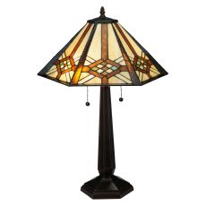 """26"""" H Crosshairs Mission Table Lamp"""