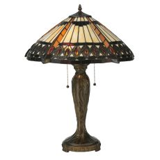 "25"" H Cleopatra Table Lamp"
