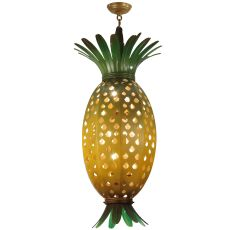 "15"" W Welcome Pineapple Pendant"