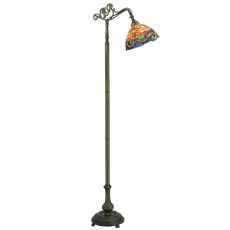 "63"" H Saturday Morning Bridge Arm Floor Lamp"