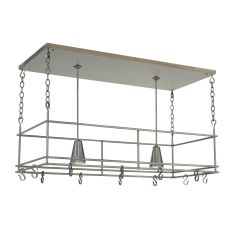 "48"" L Spartan Pot Rack"