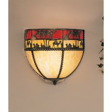 """12"""" W Camel Wall Sconce"""