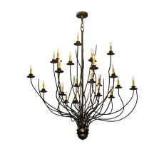 "54"" W Sycamore 22 Lt Chandelier"